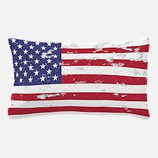 Vintage American Flag Pillow Case Pillow Case