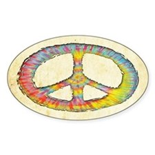 Tie-Dye Peace 713 Decal