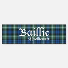 Tartan - Baillie of Polkemett Sticker (Bumper)