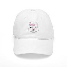 Trio of Rabbits Baseball Baseball Cap