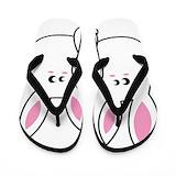 Bunny Flip Flops