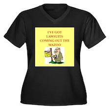 LAWYER Plus Size T-Shirt