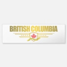 British Columbia Flag Bumper Bumper Bumper Sticker
