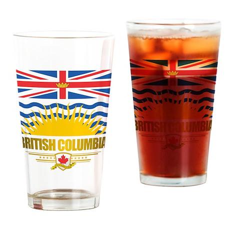 British Columbia Flag Drinking Glass