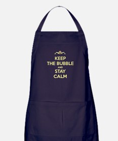 Cute Royal navy Apron (dark)