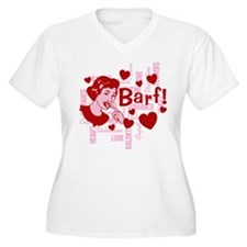 Hearts And Romance Barf T-Shirt