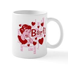 Hearts And Romance Barf Mug