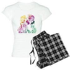 Mardi Gras Showgirls Pajamas