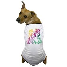 Mardi Gras Showgirls Dog T-Shirt