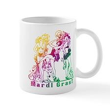 Mardi Gras Showgirls Small Mugs