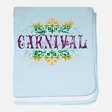 Carnival baby blanket