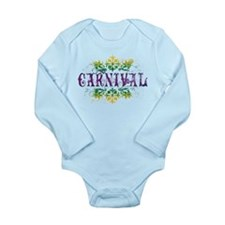 Carnival Long Sleeve Infant Bodysuit
