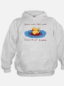 Duckie Needs Fresh Blood Hoodie
