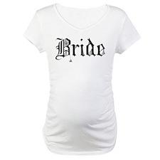 Gothic Text Bride Shirt