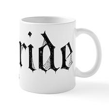 Gothic Text Bride Mug