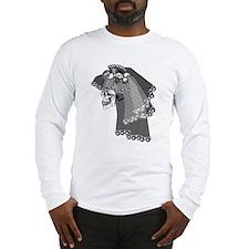 Skull Bride Long Sleeve T-Shirt