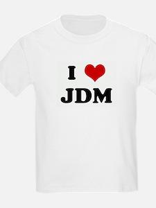 I Love JDM Kids T-Shirt