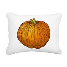 Pumpkin Rectangular Canvas Pillow