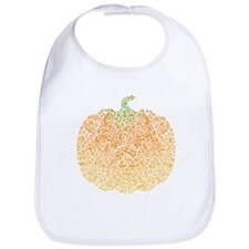 Pumpkin Pattern Bib