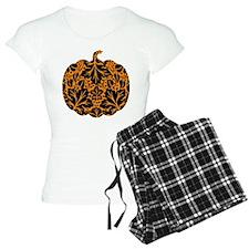 Damask Pattern Pumpkin Pajamas