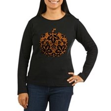 Damask Pattern Pumpkin T-Shirt