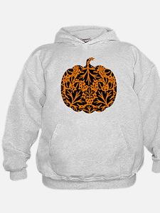 Damask Pattern Pumpkin Hoodie