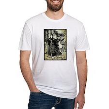 Victorian Halloween Bat Collage Shirt