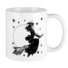 Old Fashioned Witch Mug