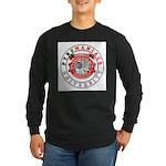 Get schooled @ TeamPyro Long Sleeve Dark T-Shirt