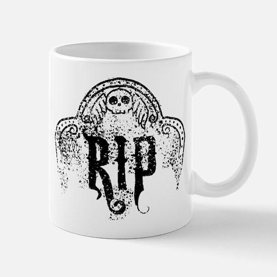 Halloween Tombstone RIP Mug