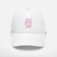 Pink Sugar Skull Baseball Baseball Cap