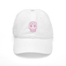 Pink Sugar Skull Baseball Cap