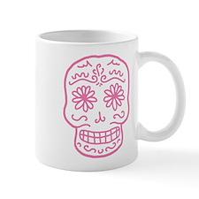 Pink Sugar Skull Mug