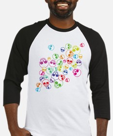 Jumble Of Sugar Skulls Baseball Jersey