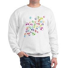 Jumble Of Sugar Skulls Sweatshirt