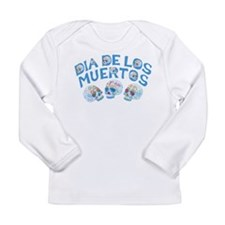 Dia De Los Muertos Long Sleeve Infant T-Shirt