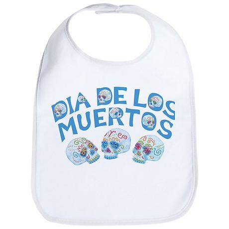 Dia De Los Muertos Bib
