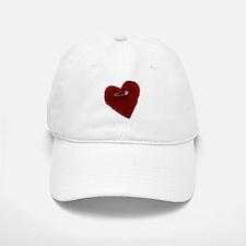 Pinned On Heart Baseball Baseball Cap