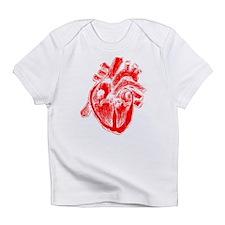 Human Heart Red Infant T-Shirt