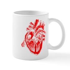 Human Heart Red Mug