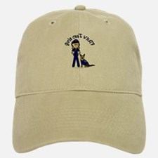 Light K-9 Police Baseball Baseball Cap