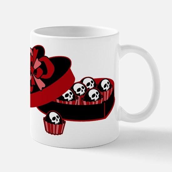 Skull Valentine Candy Mug