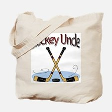 Hockey Uncle Tote Bag