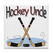 Hockey Uncle Tile Coaster