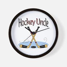 Hockey Uncle Wall Clock