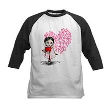Malicious Valentine Girl Skull Heart Tee