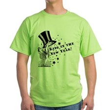 Vintage Showgirl New Year T-Shirt