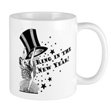 Vintage Showgirl New Year Mug