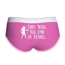 This Will All End In Tears Women's Boy Brief