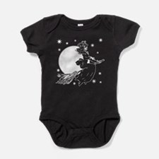 Old Fashioned Witch Baby Bodysuit